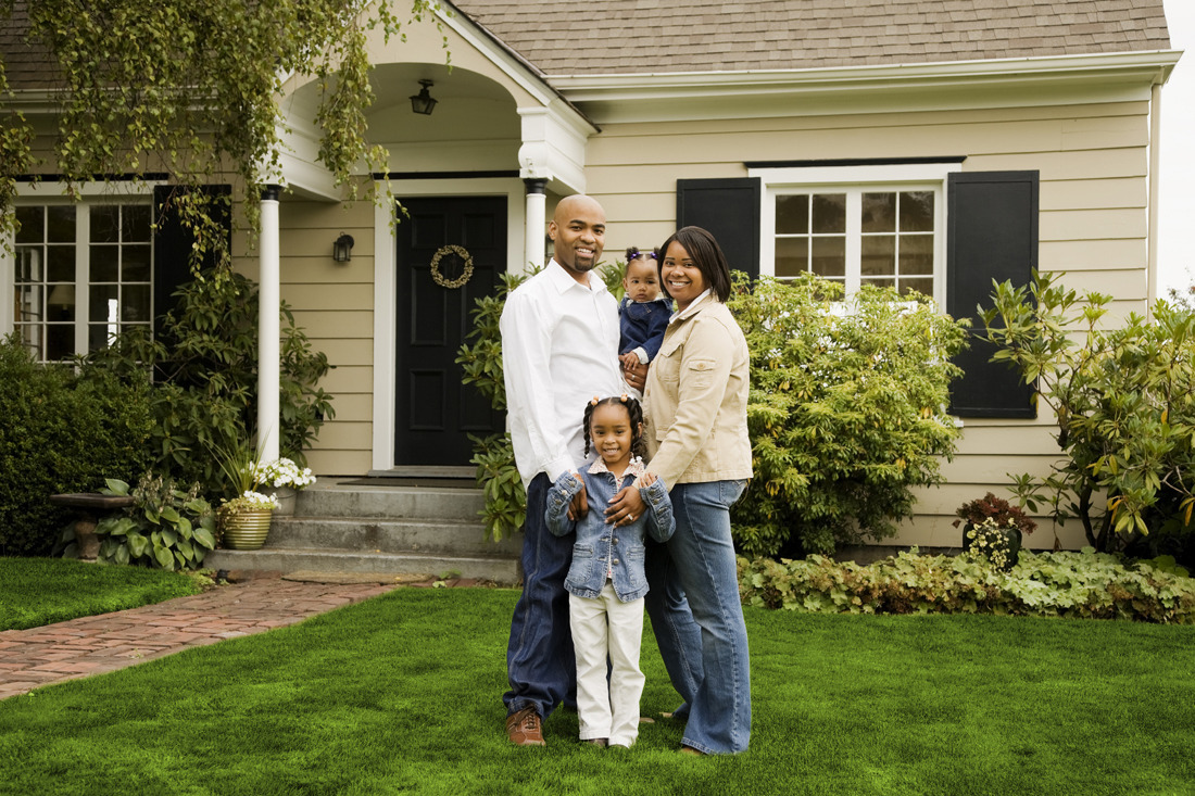 Financial literacy homeownership education workshop for A family house